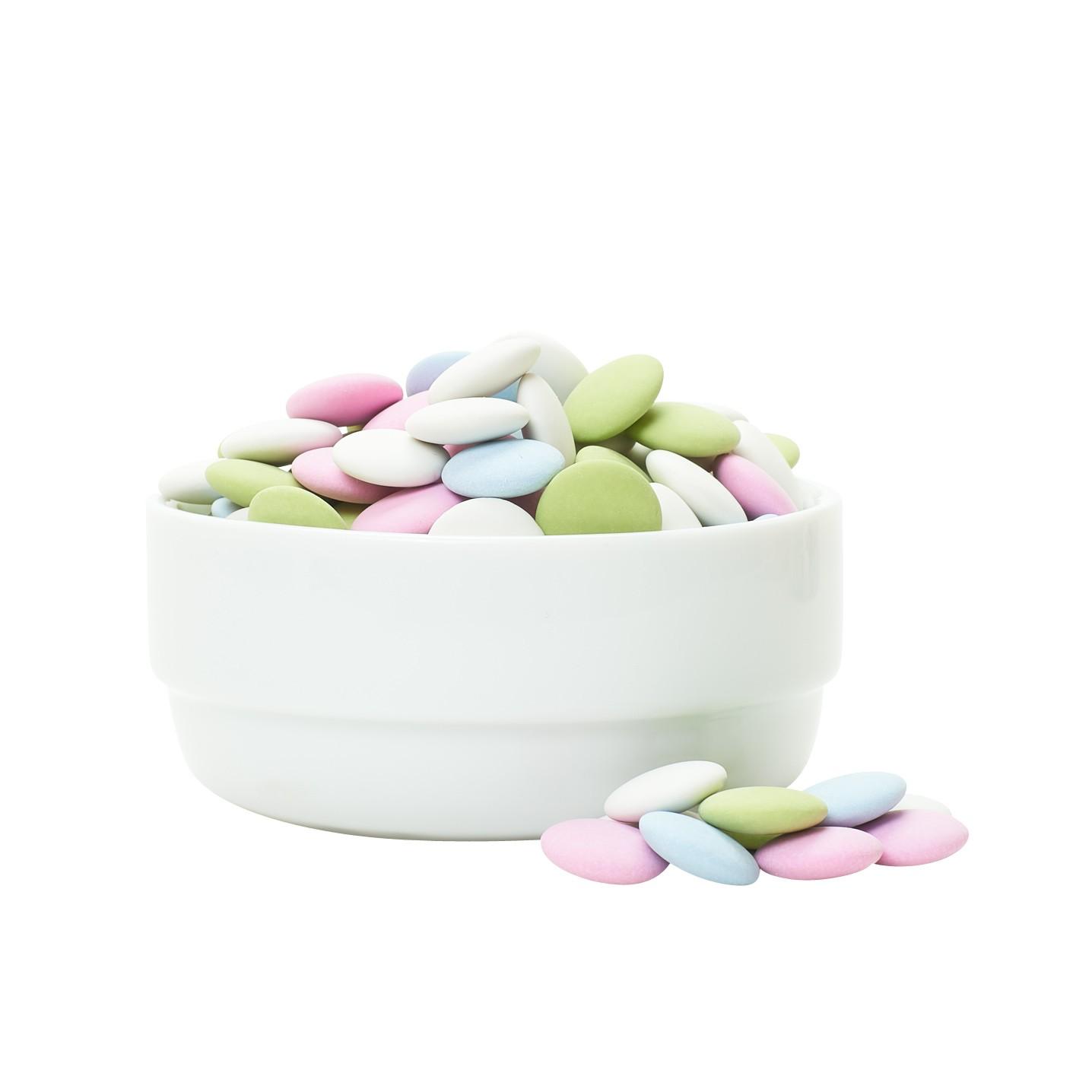 Pastel Mint Chocolate Lentils