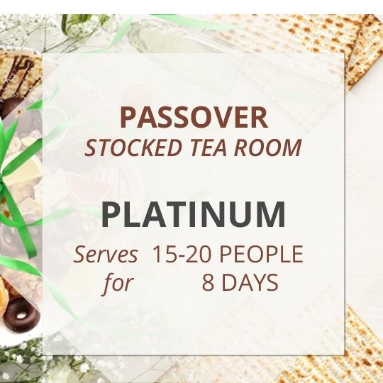 Platinum Passover Stocked Tea Room