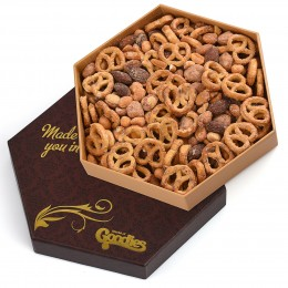 Signature Pretzel and Nut Gift Box