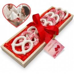 Valentines Day Small Pretzel Tray