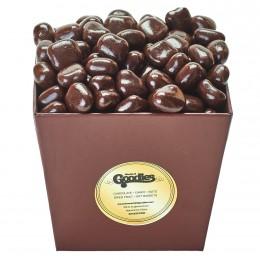 Bucket of Chocolate Covered Orange Peel Bites