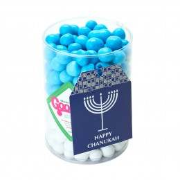 HAPPY CHANUKAH CHOCOLATE CYLINDER