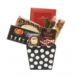 Black and White Gourmet Gift Box