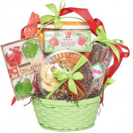 Green Apple and Honey Rosh Hashana Tea Set Gift Basket