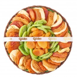 Dried Fruits Circle Gift Arrangement