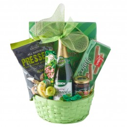 Green Purim Gift Basket