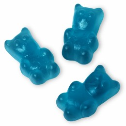 Clear Blue Gummy Bears