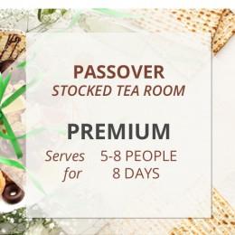 Premium Passover Stocked Tea Room