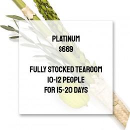 Platinum Sukkot Package