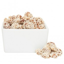 Honey Glazed Sesame Almonds