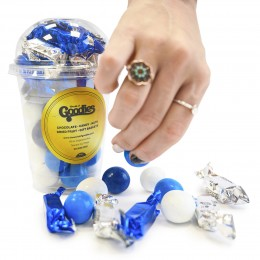 Chanukah Chocolate and Candy Gumball Cup