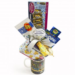 Chanukah Treats Kids Mug Gift Pack