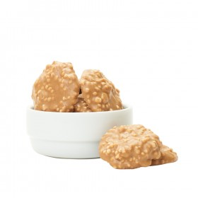 Peanut brittle with Crispies