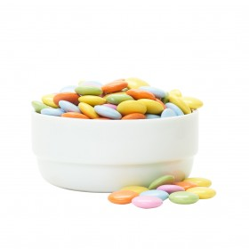 Rainbow Chocolate Lentils