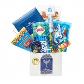 CHANUKAH CANDY AND CHOCOLATE GIFT BOX