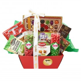 Grand Red Gift Basket