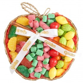 Mesh Apple Rosh Hashana Candy Gift Basket