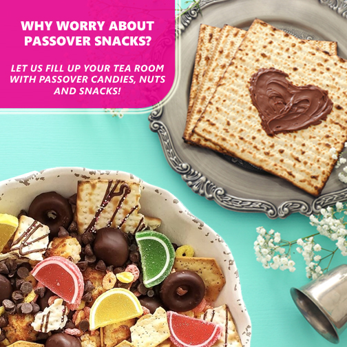 get all your pesach snacks here