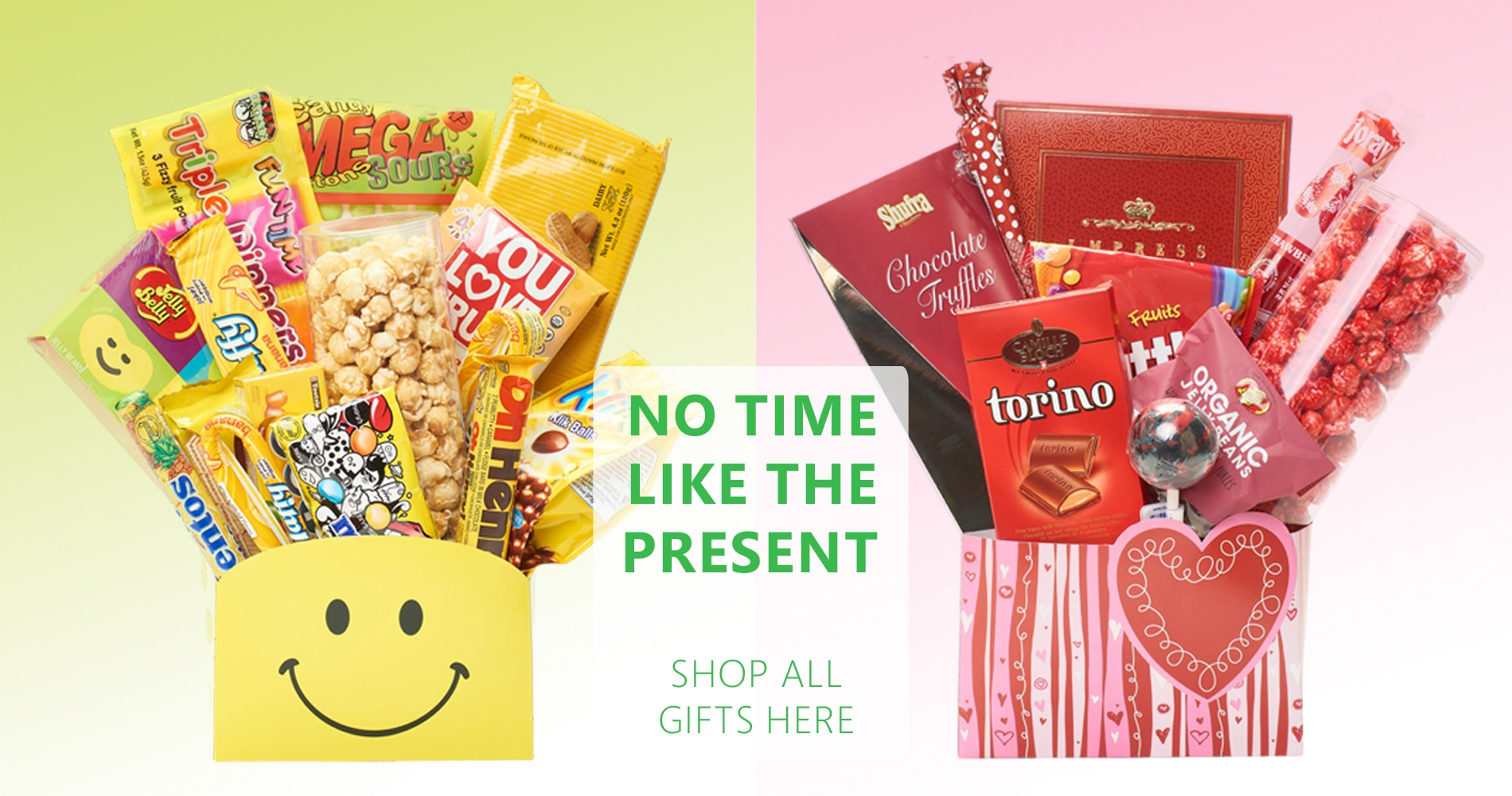 No time like the present, shop all gifts here